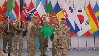ماموریت نظامی ناتو در افغانستان پایان یافت، حمایت از ارتش ادامه دارد