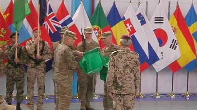 NATO formally hands over to new Afghanistan mission