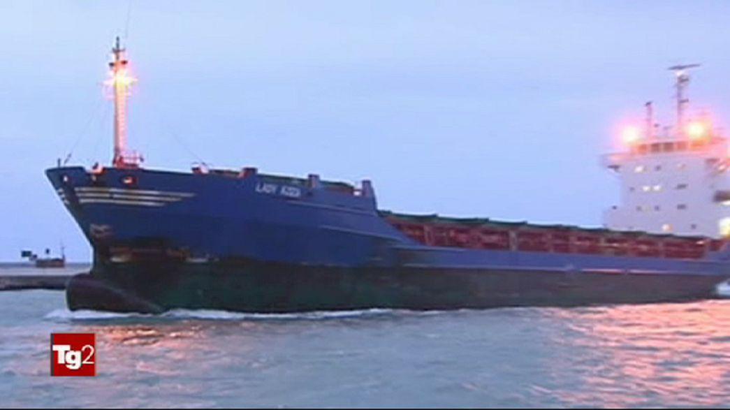 Türkischer Frachter vor Adriaküste gesunken