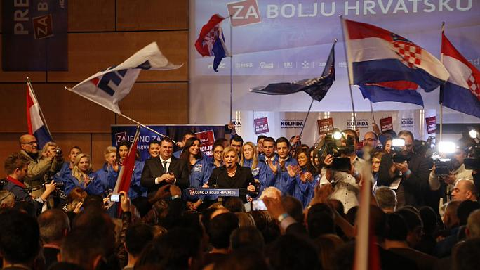 Hırvatistan'da cumhurbaşkanlığı seçimleri ikinci tura kaldı