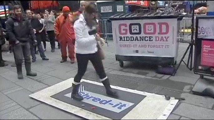 New York'ta 'Kötü Anılardan Kurtulma Günü'