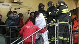 Nyolcan haltak meg a Görögország partjainál kigyulladt olasz kompon