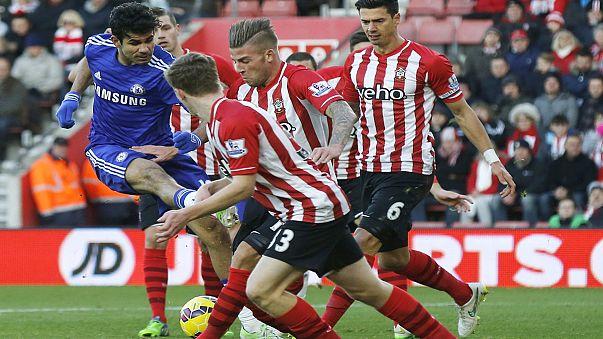 Korner - félidőben a Chelsea a Premier Liga éllovasa