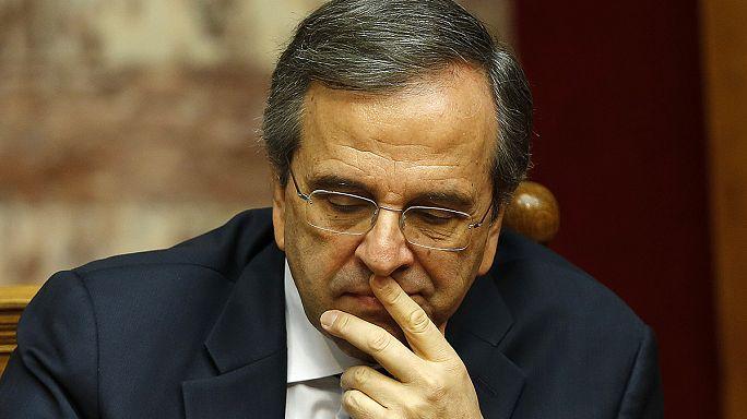 Grèce : l'aide internationale suspendue au résultat des législatives