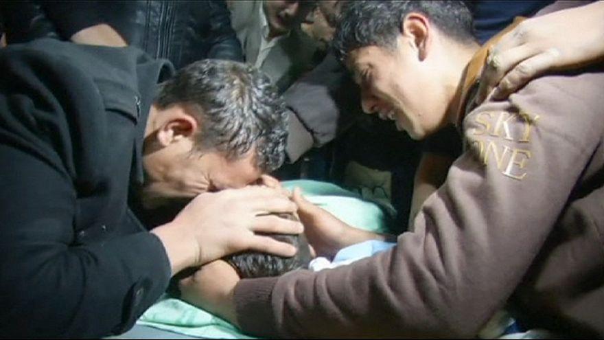 Lelőttek egy palesztin fiút Ciszjordániában