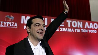 Syriza leader Tsipras says Greeks not foreign interests should decide future
