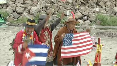 Peru shamans give predictions for the 2015 on US and Cuba relations – nocomment