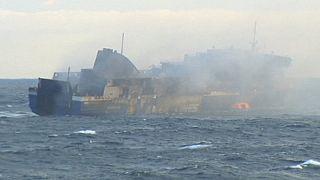 Le bilan de l'incendie du Norman Atlantic toujours incertain.