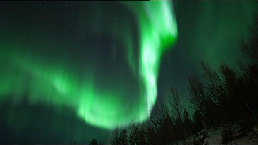 Meia-noite magnética na Noruega
