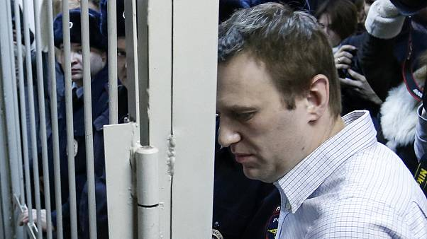 Kremlin critic detained at rally held in protest over sentence against him