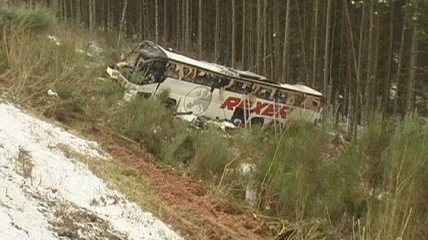 Quatro mortos em acidente de autocarro na Alemanha