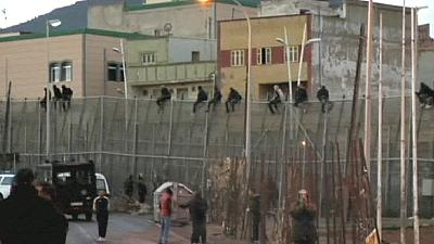 Over 100 migrants attempt to storm Melilla enclave