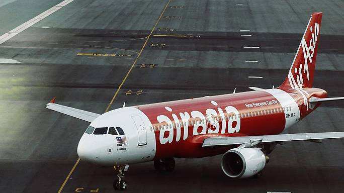AirAsia plane skids off runway in Philippines