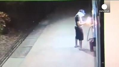 Darwin Award? Man's bid to raid ATM blows up in his face