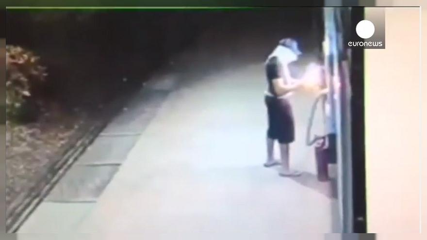 Darwin Award? Man's bid to raid ATM blows up in his face