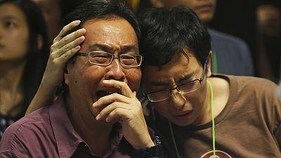 Distress and anger among relatives of AirAsia victims