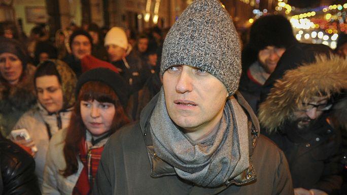Rus muhalif lidere verilen ceza Putin karşıtlarını sokağa döktü