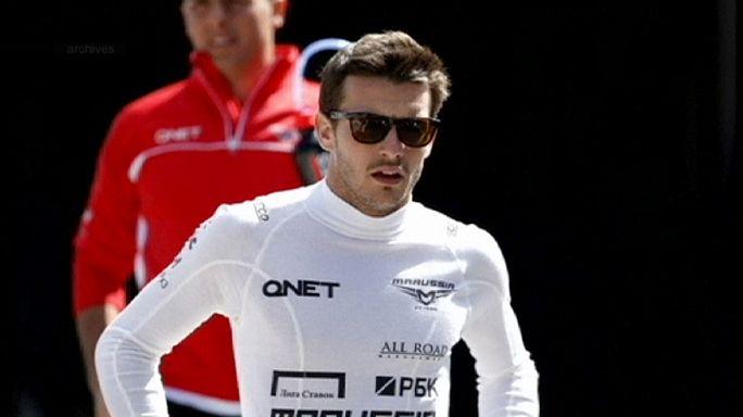Formula 1 driver Bianchi 'unconscious but breathing unaided'