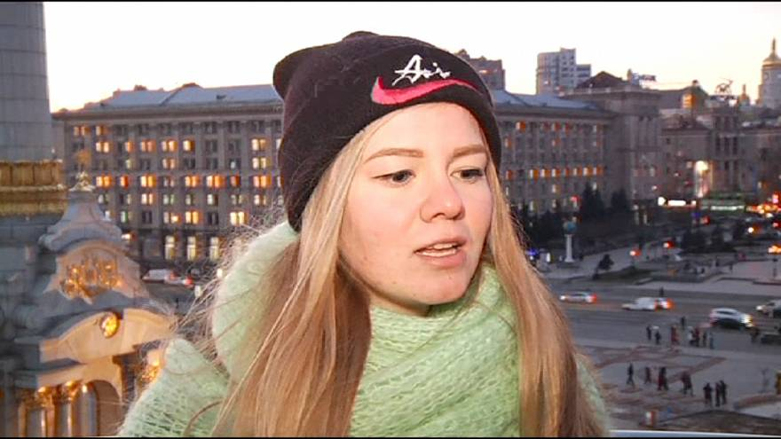 Piazza Maidan a Kiev: una delle immagini simbolo del 2014
