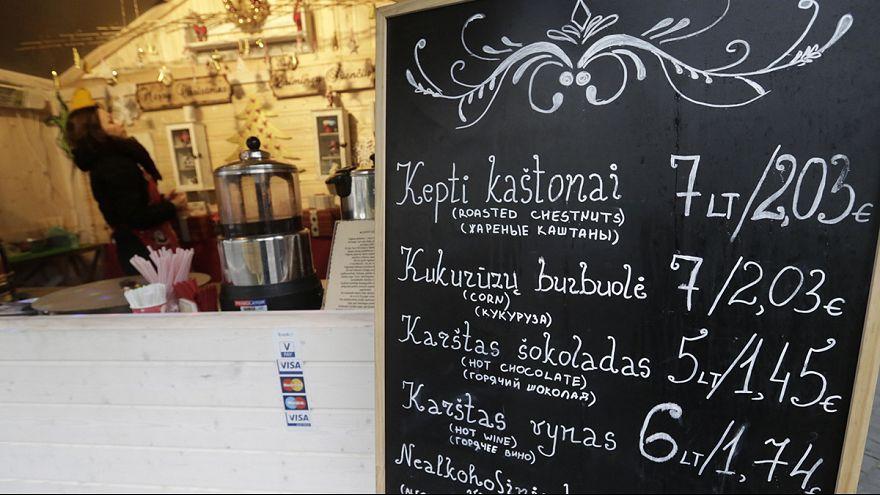 Lithuania counts down to eurozone membership