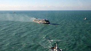 Completada la evacuación del Norman Atlantic