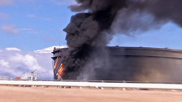 Fin d'année chaotique en Libye