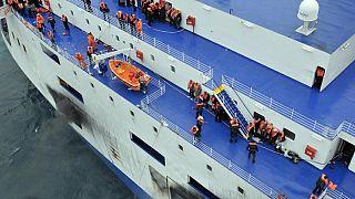 Βίντεο από τη στιγμή της διάσωσης επιβατών του Norman Atlantic