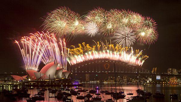 Новый 2015 год уже настал в Австралии и Новой Зеландии
