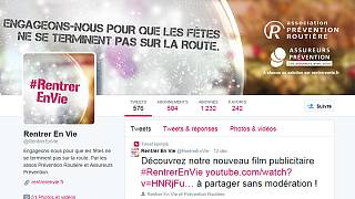 #RentrerEnVie, hashtag du jour en France