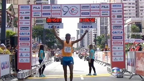 Etíopes conquistam São Paulo
