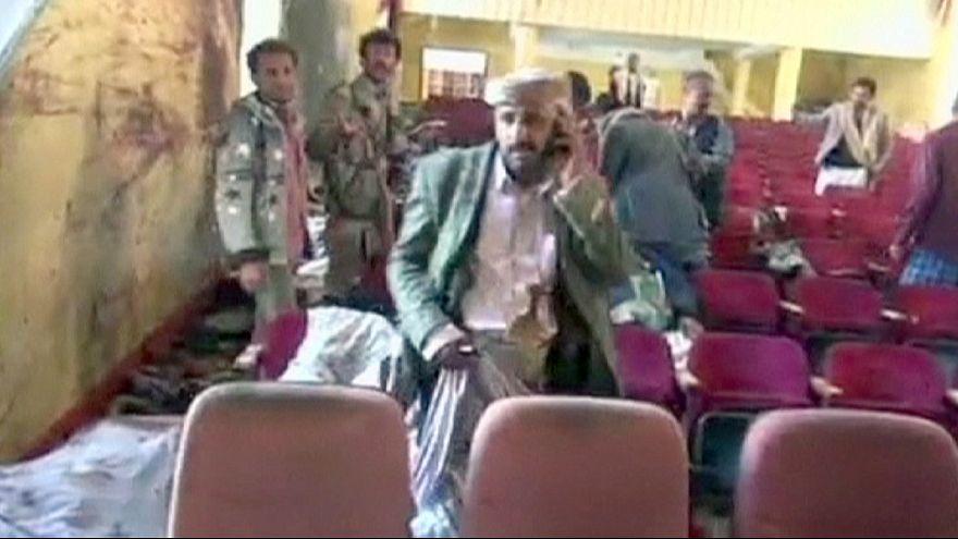 Yemen'de kültür merkezine intihar saldırısı
