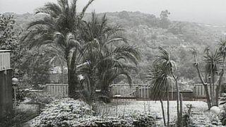 سرمای شدید در ایتالیا