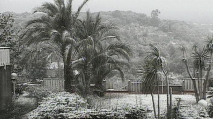 Италия под снегом