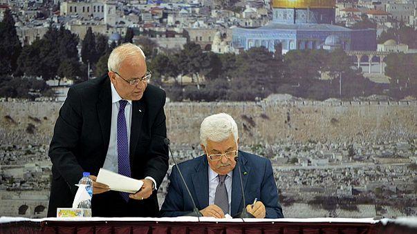 Abbas signs up to International Criminal Court after UN loss