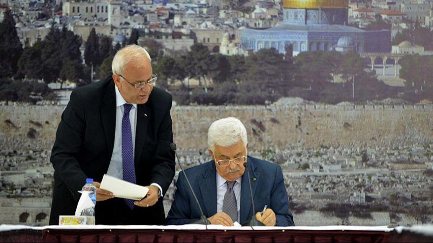 نتانياهو يتوعد بالرد على توقيع السلطة الفلسطينية لميثاق روما