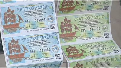 Greeks rely on 'lady luck' bringing a last hope lottery win
