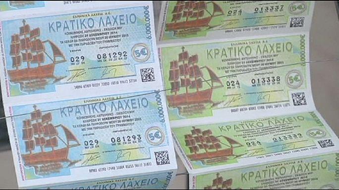 Греция: вся надежда на выигрыш в лотерею