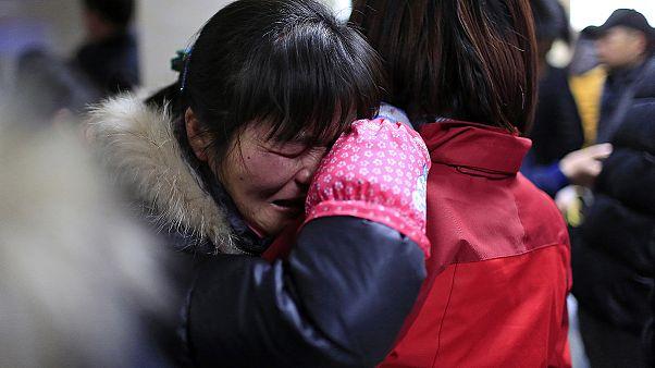 جشن های سال جدید میلادی در شانگهای حادثه آفرید