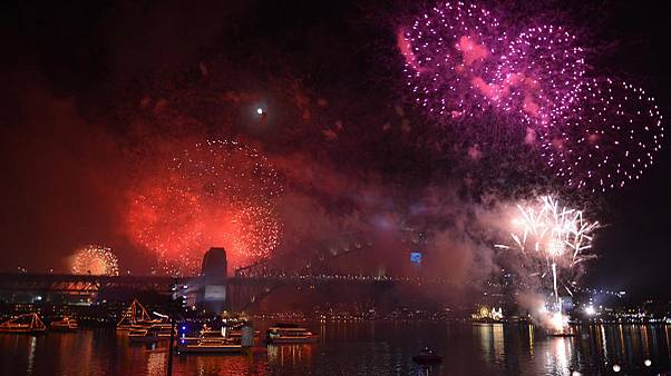 احتفالات السنة الجديدة 2015