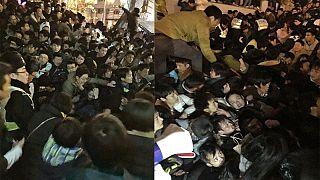 Ijesztő és megrázó volt a sanghaji pánik szemtanúk szerint