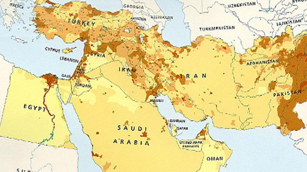 Israel borrado del mapa por la editorial HarperCollins