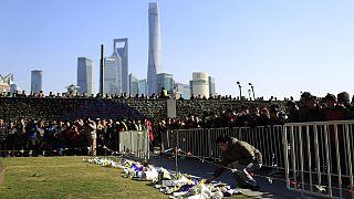 چین یاد قربانیان حادثه مرگبار شانگهای را گرامی داشت