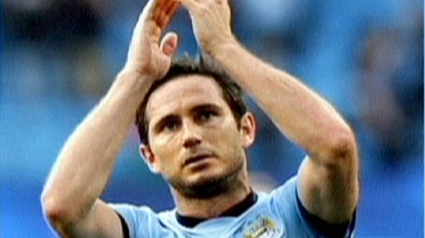 Manchester City garde Lampard