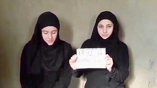 Video zeigt offenbar im August in Syrien entführte Italienerinnen