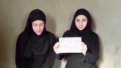Italianas raptadas na Síria aparecem num vídeo a pedir ajuda