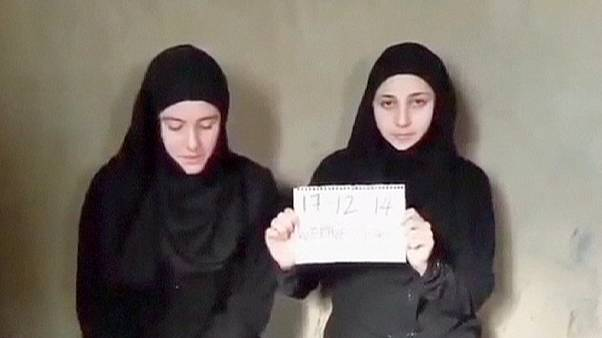 Video of kidnapped Italian aid workers claims to show women still alive in Syria