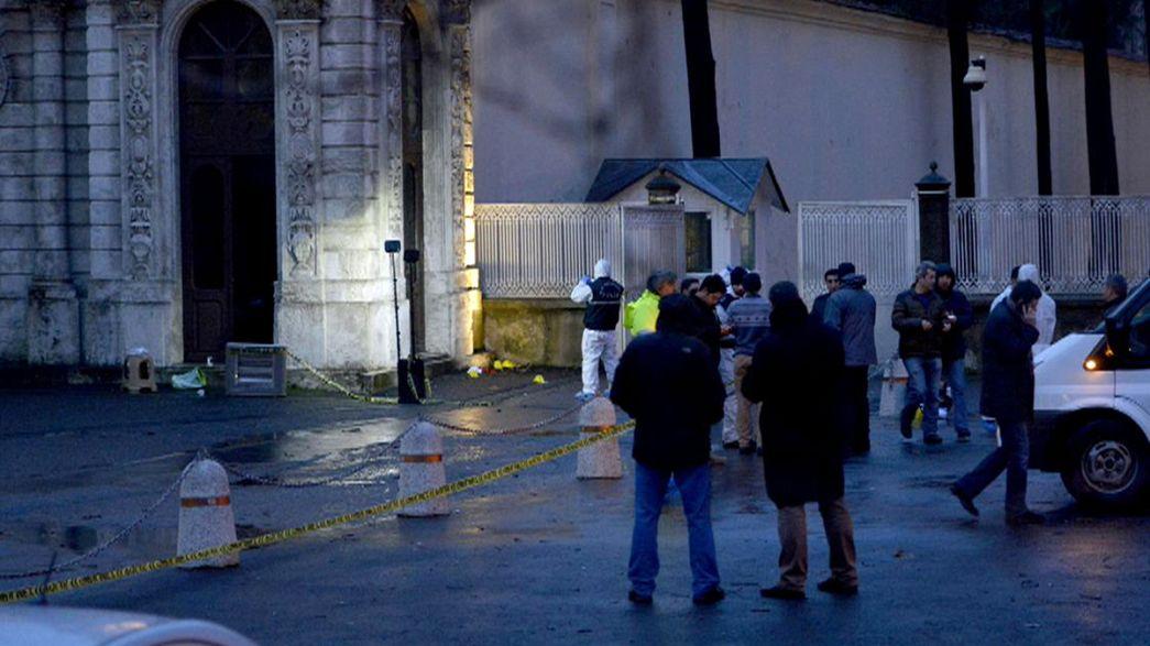 Ataque falhado no complexo que abriga escritório de PM turco