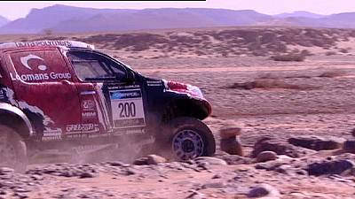 Norway's Ullevalseter sets pace in Africa Eco Rally