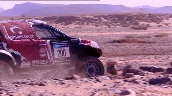 Africa Eco Race - Új éllovas az autósoknál