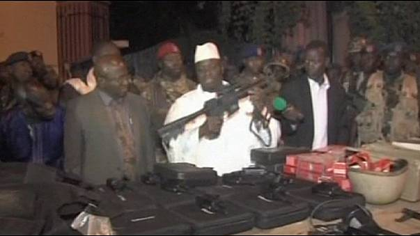 Gambia President Jammeh blames foreign-backed dissidents for attack on capital